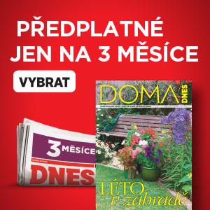Předplatné MF DNES - 3 měsíce na zkoušku - DOMA DNES