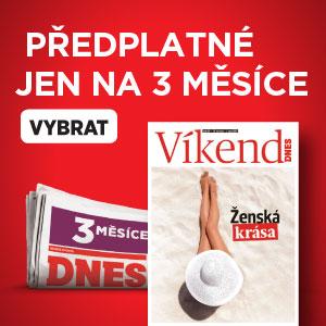 Předplatné MF DNES - 3 měsíce na zkoušku - Víkend DNES