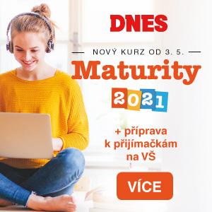 MF DNES: Maturity 2021 + příprava na přijímačky na VŠ