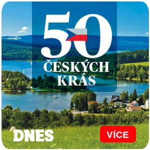 50 českých krás - velký letní seriál