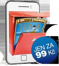 Časopis TÉMA přes SMS