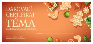 Darovací certifikát TÉMA