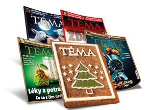 Časopis TÉMA: TIP na jedinečný vánoční dárek
