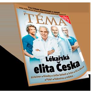 Speciál TÉMA: Lékařská elita Česka