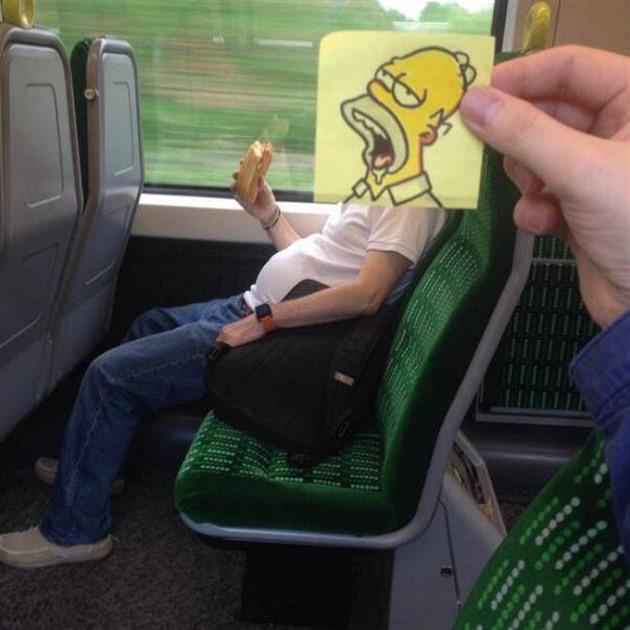 kreslený sex ve vlaku