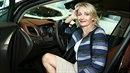 Veronika Žilková je někdy za volantem zoufalá.