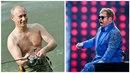 Vladimir Putin a Elton John