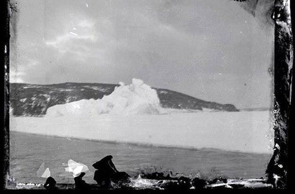 Rossův ostrov na Antarktidě.
