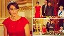 Kate to na státním banketu v Buckinghamském paláci moc slušelo, ale vypadala...