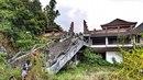 Obrovský hotelový komplex na Bali je jako město duchů.