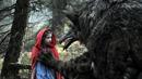 Takhle si Jan Svěrák představuje vlka z Červené Karkulky.