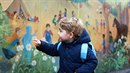 Princ George šel poprvé do školky.
