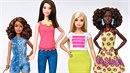 Panenky Barbie se zaoblily.
