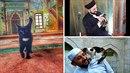 Imán miluje kočky a bere si je do mešity jako do útulku.