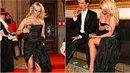 Pamela na plese ve vídeňské opeře zrovna dvakrát nezabodovala. Chovala se...