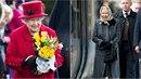 Britská královna neváhá ke svým cestám použít veřejnou dopravu.