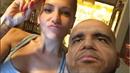 Partner zpěvačky Dary Rolins Patrik Vrbovský si na sebe vzal podobu Baracka...