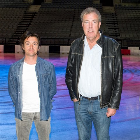 Legendární Top Gear trio opět spolu. James May, Jeremy Clarkson a Richard...