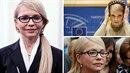Tymošenková rozpustila pověstný cop a je z ní dáma.