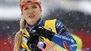 Gabriela Soukalová bude bojovat o celkový triumf ve Světovém poháru.