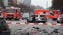 V Berlíně explodovalo auto.