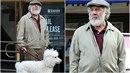 Dustin Hoffman se v nové roli objevuje před kamerou jako zarostlý šedivý...