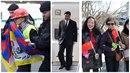 Čínský prezident Si Ťin-Pching přiletěl do Česka, policie zatkla 12 lidí!