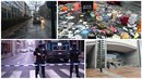 Lidé sdílejí na Twitteru, jak to vypadá den po útocích v belgické metropoli.