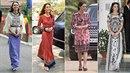 Vévodkyně Kate opět zabodovala. V Asii předvedla kolekci parádních tradičních...