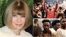 """Hlavní editorka Vogue označila Westovu únorovou kolekci za """"uprchlickou..."""