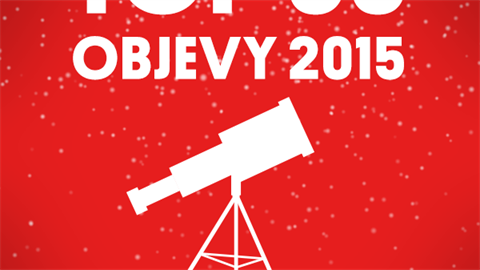 TOP 3O Objevy 2015