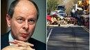 Expremiér Tošovský měl nehodu: svoje Ferrari zdemoloval a naboural další tři...