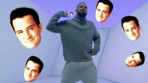 MASHUP: Chandler Bing a jeho Hotline Bling!