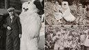 Záhadného medvěda na německých fotografiích objevil sběratel historických fotek.