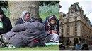 Skupina migrantů rozbila tábor nedaleko luxusního hotelu Ritz v Londýně.
