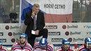 Trenér Vladimír Vůjtek povede od pátku české hokejisty do mistrovství světa....