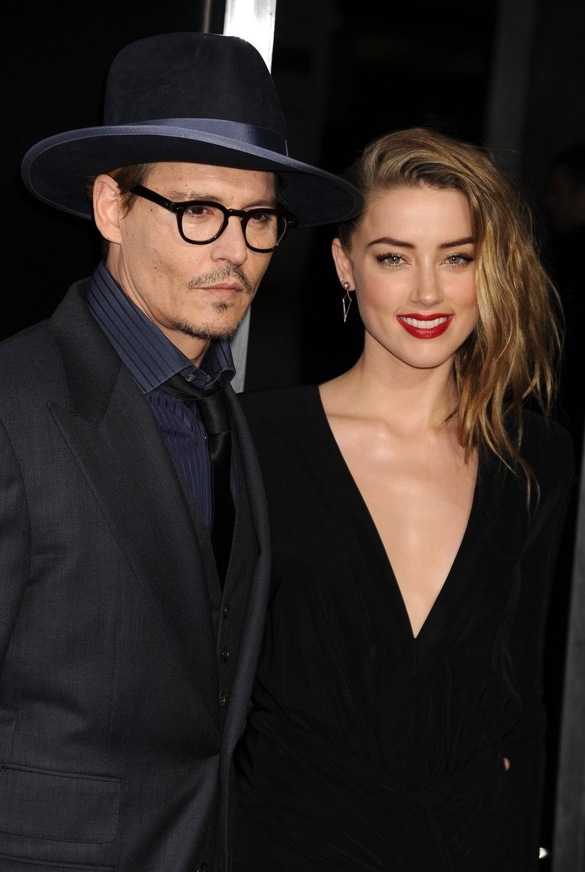 Johnny Depp s Amber Heard.