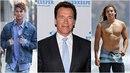 Arnie a jeho synové. Který je mu víc podobný? Odpověď se nabízí!