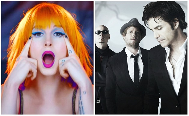 Hayley Williams /Paramore/ vs Train