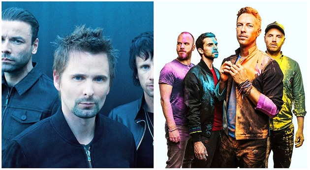 Muse vs Coldplay