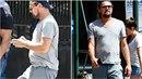 Leonardo DiCaprio pekelně přibral. Pod tričkem se mu rýsuje viditelná...
