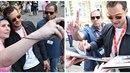 Hvězda 50 odstínů šedi Jamie Dornan přijela do Varů a záhy se ocitl v zajetí...