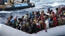 K útoku došlo poté, co v uplynulém týdnu do Itálie dorazilo přes 4500 uprchlíků.