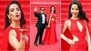 Latinskoamerická kráska navštívila v doprovodu manžela Rusko. No není nádherná?