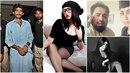Modelku a blogerku Kandíl Balúč zavraždil její vlastní bratr Vasím (vlevo)....