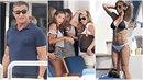 Sylvester Stallone a jeho harém na dovolené. Jak tohle slavný Rocky přežije?