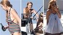 Lindsay Lohan prohlásila, že je těhotná. Její chování je velmi nezodpovědné.