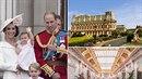 Princ William s rodinou vyrazil na dovolenou do luxusního hotelu Palais na...