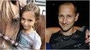 Dcera Dary Rolins se čím dál tím více podobá tátovi Matějovi Homolovi.