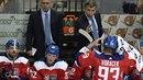 I český trenér Josef Jandač (vpravo) s asistentem Jiřím Kalousem museli uznat:...